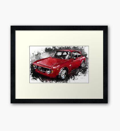 Alfa Romeo Gulia GTA Framed Print