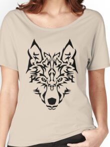 Tribal Wolf Women's Relaxed Fit T-Shirt