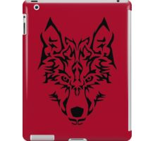 Tribal Wolf iPad Case/Skin