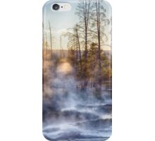 Sunset Steam iPhone Case/Skin