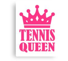 Tennis queen crown Canvas Print