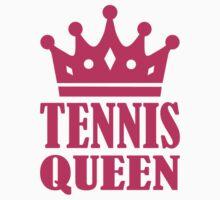 Tennis queen crown One Piece - Short Sleeve