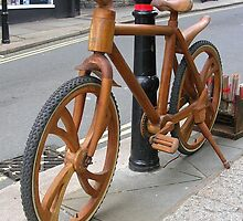 Wooden Bicycle by lezvee