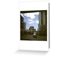 The Biggest Little City Greeting Card