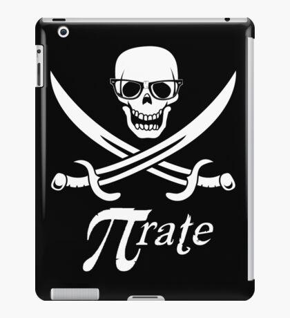 Pi-rate nerdy pirate - www.shirtdorks.com iPad Case/Skin