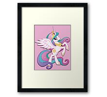 Princess Celestia (My Little Pony) (W/V) Framed Print
