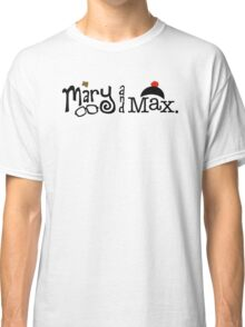 Mary and Max (black) Classic T-Shirt
