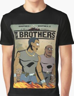 TWO BROTHERS!! - www.shirtdorks.com Graphic T-Shirt