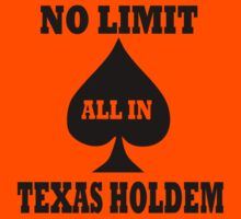 Poker texas holdem Kids Clothes