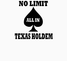 Poker texas holdem Unisex T-Shirt