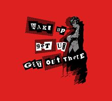 Protagonist - Wake Up, Get Up, Get Out There! - red Unisex T-Shirt