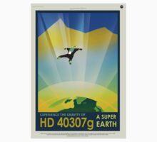 HD 4307g A Super Earth JPL Poster Kids Tee