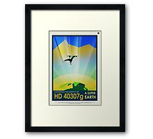 HD 4307g A Super Earth JPL Poster Framed Print