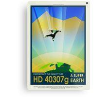 HD 4307g A Super Earth JPL Poster Metal Print