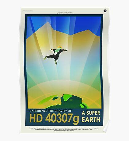 HD 4307g A Super Earth JPL Poster Poster