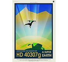 HD 4307g A Super Earth JPL Poster Photographic Print