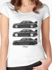 Mercedes 190E Evolution II Women's Fitted Scoop T-Shirt