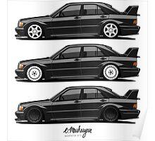 Mercedes 190E Evolution II Poster