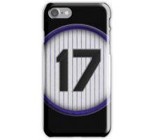 17 - Helton iPhone Case/Skin