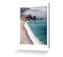 High By The Beach Greeting Card