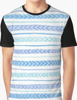 Blue Arrows Graphic T-Shirt