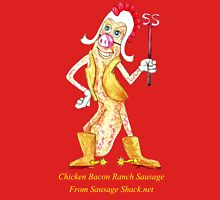 Rob Gamble's and Shawn Mahoney's Chicken Bacon Ranch Sausage copy right 2015 Unisex T-Shirt