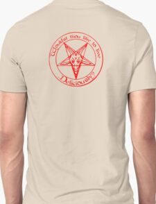 Black Phillip - Live Deliciously Unisex T-Shirt