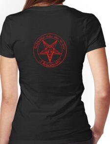 Black Phillip - Live Deliciously Womens Fitted T-Shirt