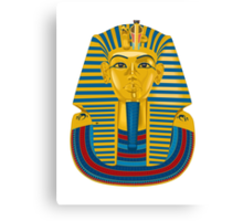 King Tut Mask Canvas Print