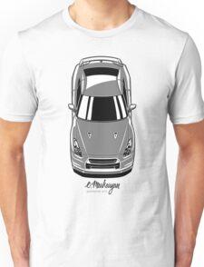 Nissan GT-R (grey) Unisex T-Shirt