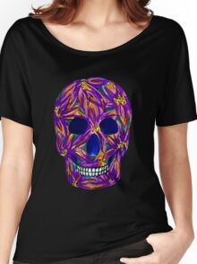 Sugar Skull (large, untiled design) Women's Relaxed Fit T-Shirt