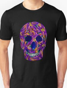 Sugar Skull (large, untiled design) Unisex T-Shirt