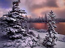 Big Lake  by Charles & Patricia   Harkins ~ Picture Oregon