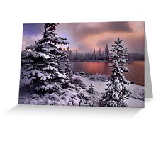 Big Lake  Greeting Card