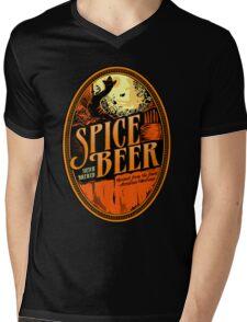 Spice Beer Label Mens V-Neck T-Shirt