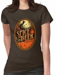 Spice Beer Label Womens Fitted T-Shirt
