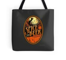 Spice Beer Label Tote Bag