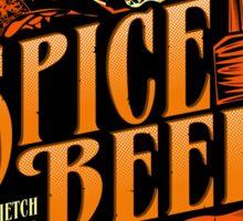 Spice Beer Label Sticker