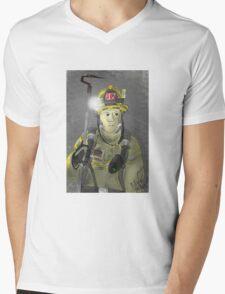 Truckie Mens V-Neck T-Shirt