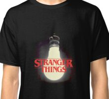 Stranger Things - Lightbulb Classic T-Shirt