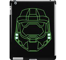 80's Cyber Halo Emblem (Simple) iPad Case/Skin