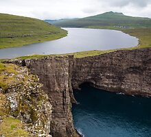 Midvagur on the Faroe Islands by tinnieopener