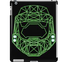80's Cyber Halo Emblem (Complex) iPad Case/Skin
