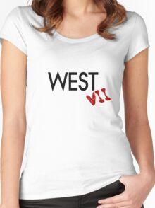 12 Monkeys - West 7 Women's Fitted Scoop T-Shirt