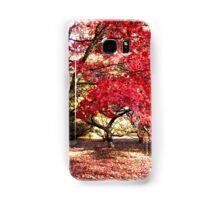 Japanese Maples in Autumn Samsung Galaxy Case/Skin