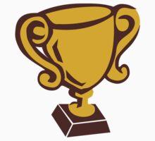 Cup trophy winner champion by Designzz
