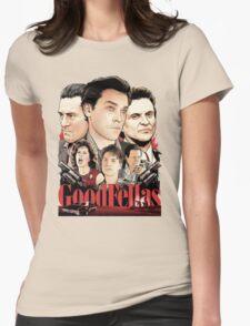 Goodfellas Retro Womens Fitted T-Shirt
