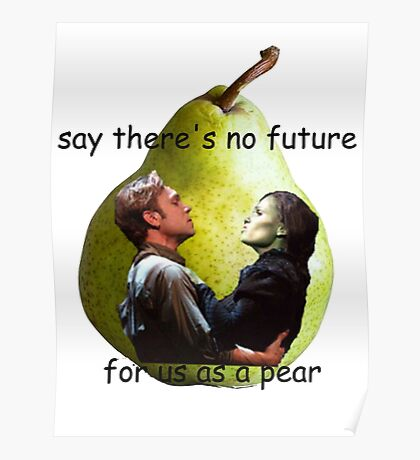 Us As A Pear Poster
