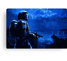 Halo ODST - New Mombassa Canvas Print