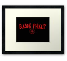 Black Phillip Slayer / Baphomet Framed Print